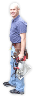 Glenn with Tools